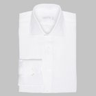Simon Skottowe - Irish linen spread collar dress shirt white
