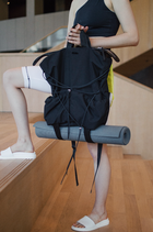 MIMOK YOGA BACKPACK BLACK