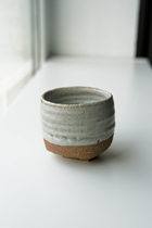 TADA  HANDCRAFTED TEA CUP SHINO GLAZED