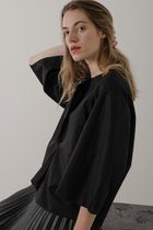 FORGO BLOUSE BLACK