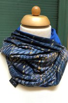 Man Loop Scarf SD4210DY - Dandy yellow/royal blue