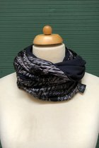 Man Loop Scarf SD4209DE - Dandy elegant/black