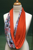 Women Loop Scarf SD41005VE - Venice/orange