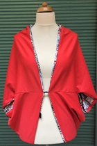 Cardigan SD1012VE - Venice/coral red