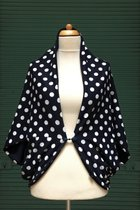 Cardigan SD10048DWDK - Dark Blue White Dotted Knitted/midnight blue