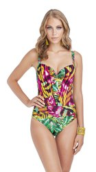 JAMAICA one-piece swimsuit - E266