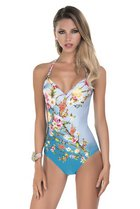 FLORA one-pice swimsuit - E956