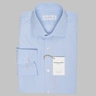 Simon Skottowe - Giza 87 End on end dress shirt in light blue light  blue
