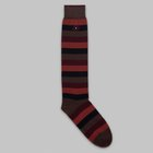 Fumagalli 1891 - Bastia long socks brown rust striped socks