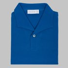 Simon Skottowe - Short Sleeve Polo Shirt royal blue