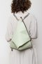 DELTA BACKPACK - Mint green dotted