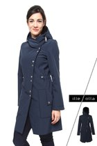 FABIOLA coat dark blue