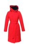 GERTRUD winter coat - cherry red - dark blue