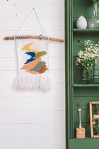 Woven wall hanging WHITE DREAM